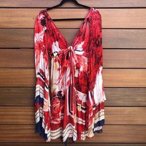 Roberto cavalli runway silk dress